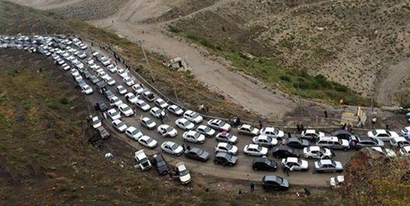 محور ارتباطی کرج ـ چالوس یکطرفه شد/ محدودیت ترافیکی تا ساعت 24