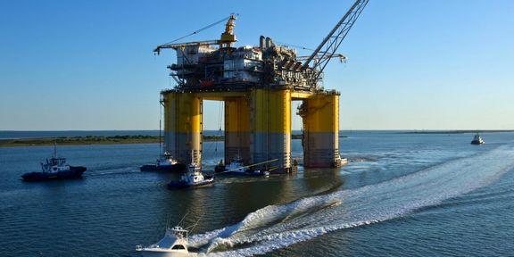 کاهش قیمت نفت خام به ۵۴.۲ دلار در سال 2021