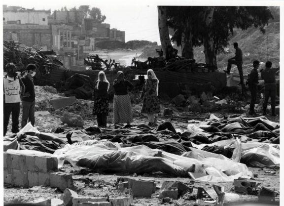 35 امین سالگرد کشتار صبرا و شاتیلا