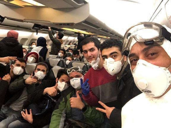 تصاویری تازه از دانشجویان قرنطینه شده ایران