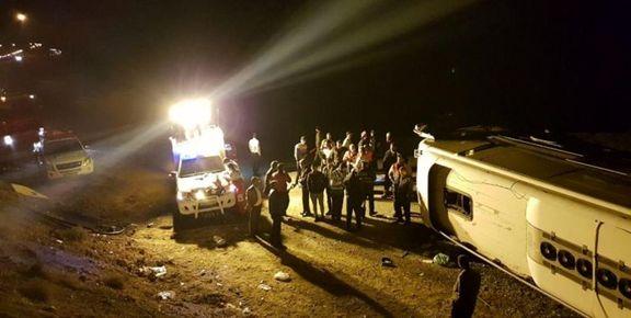 علت  واژگونی اتوبوس  در فیروزکوه چه بود؟