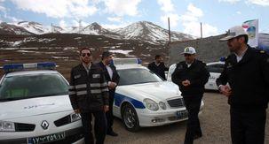به شهادت رسیدن پلیس راهور در جاده سیستان و بلوچستان