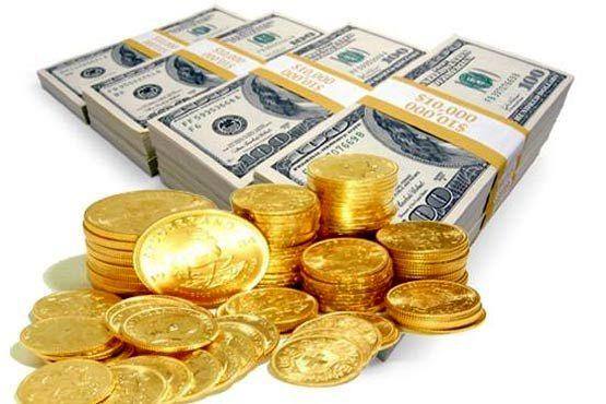 دلار 57 تومان کاهش یافت/ افزایش قیمت سکه گرمی
