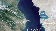 زلزله 5 ریشتری در عمق 10 کیلومتری زیر سطح دریای خزر