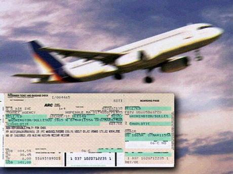 وجه بلیت های سوخت شده هواپیما باید به صورت کامل به مشتری پرداخت شود