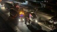 ارسال 150 کامیون حامل اسلحه به استان حسکه سوریه توسط آمریکا
