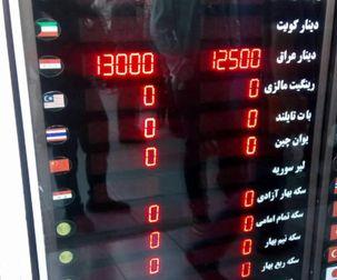 هجوم مردم برای خرید دینار عراق / هر دینار عراق 13 تومان
