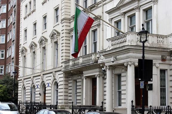 سفارت ایران در پاریس مورد تعرض اعضای کومله قرار گرفت