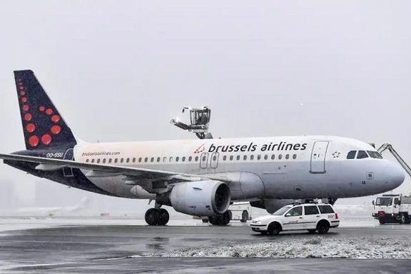 تمام پروازهای بلژیک لغو شد