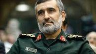 توضیحات سردار حاجی زاده فرمانده نیروی هوافضای سپاه درباره وضعیت منطقه + فیلم