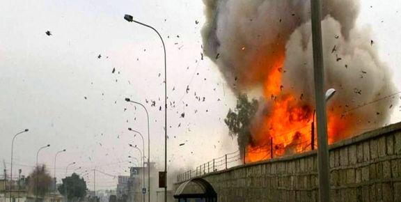 حمله موشکی به پادگانی در موصل عراق