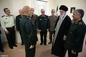 رهبر درجه سرلشکری را به فرمانده کل جدید سپاه اعطا کردند