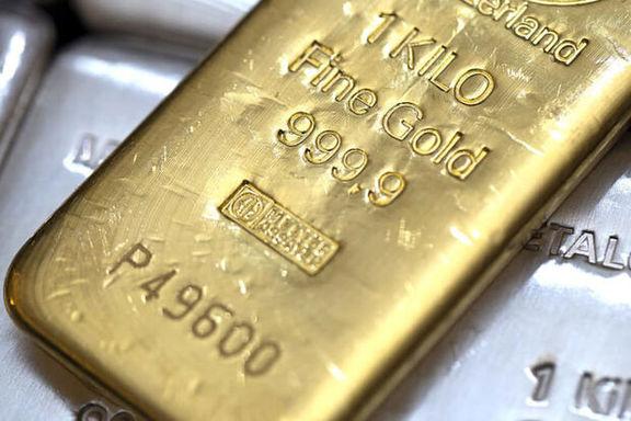 قیمت جهانی طلا تثبیت شد/ تقویت ارزش دلار موج خرید طلا را خنثی کرد