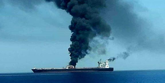 سیانان : انفجارهای دو نفتکش دریای عمان  ناشی از مینهای چسبنده بود