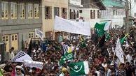 اعتراضات گسترده در کشمیر علیه دولت هند