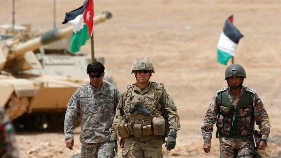 سازمان نظامی آمریکا تصمیم دارد در کی از کشورهای خاورمیانه رزمایش اجرا کند
