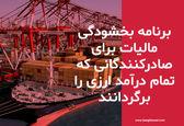 صادرکنندگانی که تمامی ارز حاصل از صادرات را بازگردانند، از بخشودگی کل مالیات بهره مند میشوند