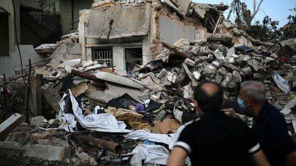 خسارت بیش از 15 میلیارد دلاری به بندر بیروت در براورد اولیه