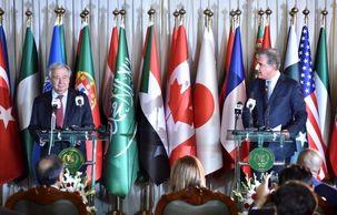 محورهای گفتگوی بین گوترش با وزیر خارجه پاکستان