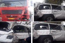 راننده کامیون عامل تصادف نوربخش و معاونش بازداشت شد