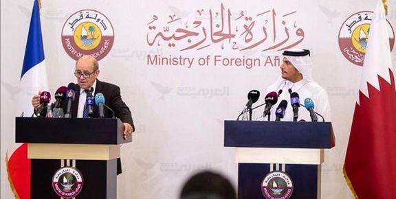 توافقنامه «گفتوگوی راهبردی» بین قطر و فرانسه امضا شد