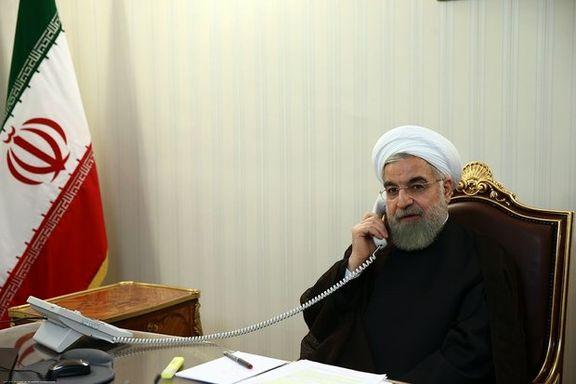 گفت و گوی تلفنی روحانی با مکرون در مورد آینده برجام