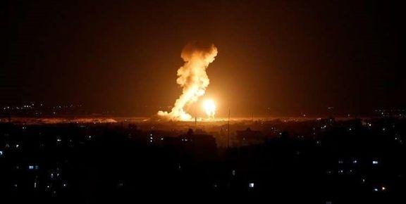 هواپیماهای تجسسی اسرائیل به غزه حمله کردند