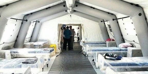 ایران در 48 ساعت بیمارستان 2000 تختخوابی میسازد