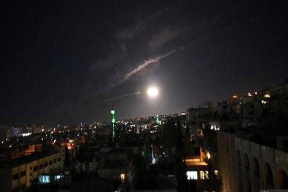 اسرائیل تاسیسات نظامی ایران و حزب الله در فرودگاه دمشق را هدف قرار داد