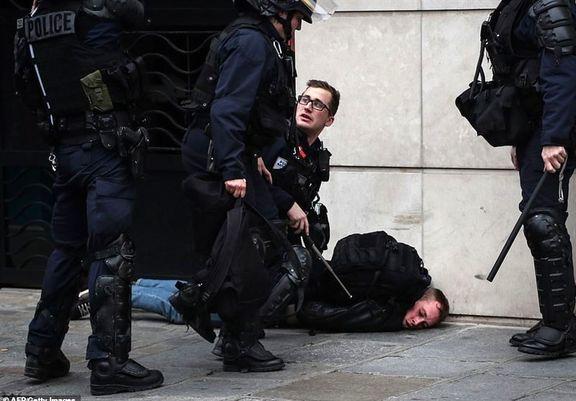 بازداشت ۱۰۲ جلیقهزرد در فرانسه