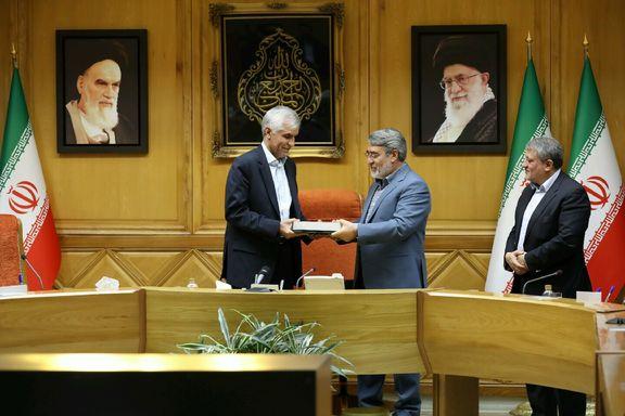 رحمانیفضلی حکم شهردار تهران را صادر کرد