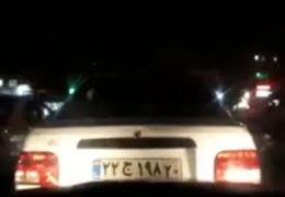 تعقیب و گریز شبانه پلیس با پراید دزدیده شده