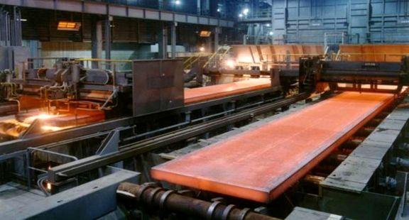 عرضه 105 هزار تن ورق فولادی در بورس کالا