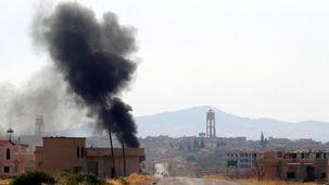 حملات هوایی نیروهای خلیفه حفتر به طرابلس