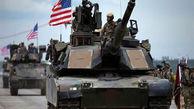 ورود کاروان خودروهای نظامی آمریکا به سوریه