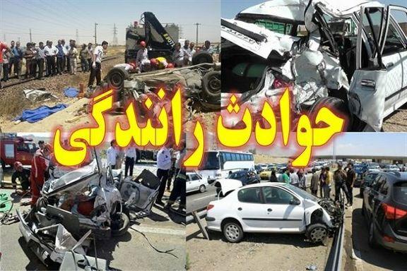 تصادف اتوبوس با پراید در ایلام / 8 نفر کشته و زخمی شدند