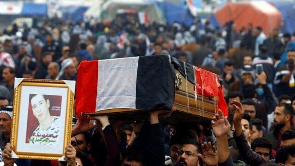 تعداد کشته شدگان اعتراضات  عراق از ۴۰۰ تن گذشت