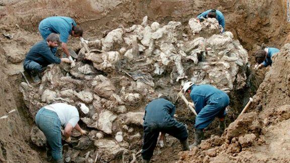 بیست و چهارمین سالگرد کشتار سربرنیتسا در سارایوو برگزار شد