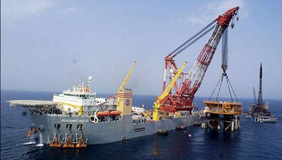 کاهش تولیدات نفت ایران در ماه ژوئن