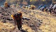 وضعیت اسف بار زنان کولبر در کردستان