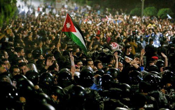 مردم اردن خواستار انحلال پارلمان شدند