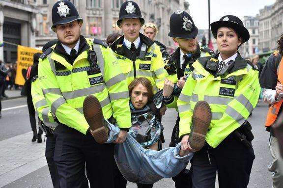 دستگیری فعالان محیط زیست این بار توسط دولت انگلیس