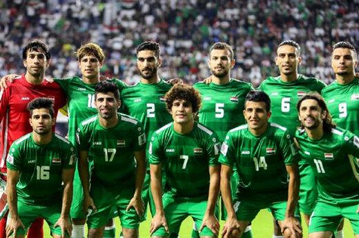 حرکت سیاسی بازیکن عراقی بعد از گل + عکس