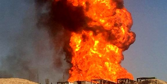 انفجار کپسول گاز انبار مغازه در زهک / 15 نفر مصدوم شد