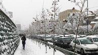 بارش برف۲۴۰ راه ارتباطی در لرستان را مسدود کرد