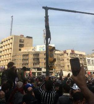 جزئیات به دارآویختن جسد نوجوان ۱۶ ساله در عراق
