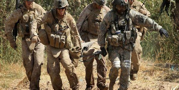 طالبان  یک خودروی نظامی آمریکایی را منهدم کرد