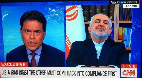 جواد ظریف: توافق هستهای هرگز قابل مذاکره نیست / آمریکا باید تضمین بدهد
