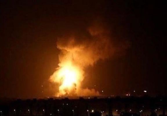 انفجاری مهیب در کارخانه فولاد زرند کرمان