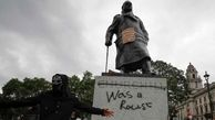 جمع کردن مجسمه مشاهیر سیاسی انگلیس از خیابان های لندن